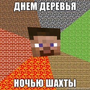 ���� ������������ ������� minecraft